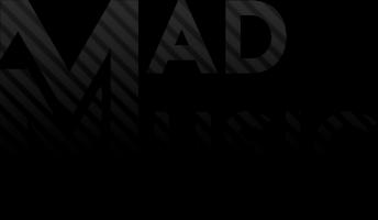 Mad Music Logo - Czarne