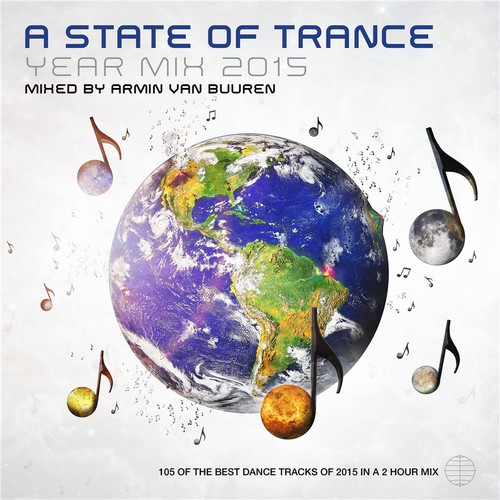 Armin Van Buuren - A State Of Trance Year Mix 2015 (front)