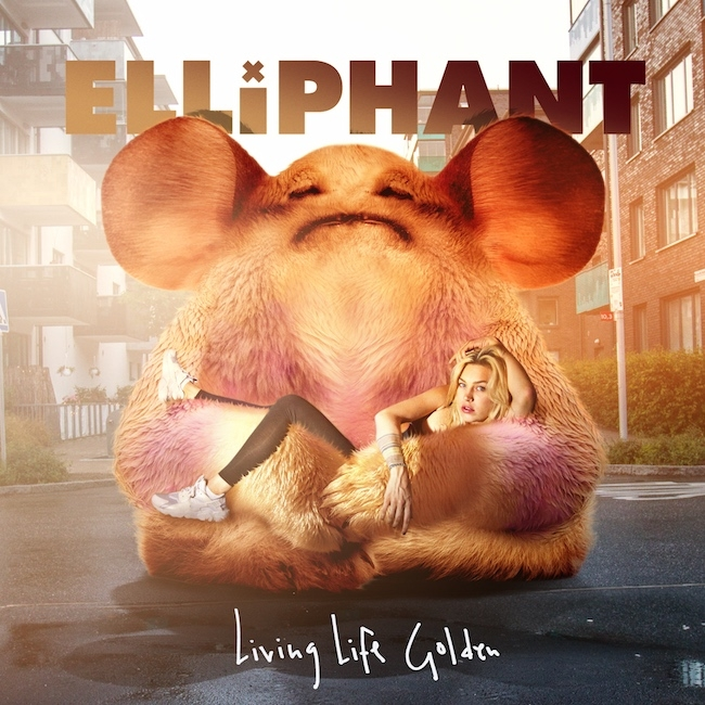Elliphant Living Life Golden cover