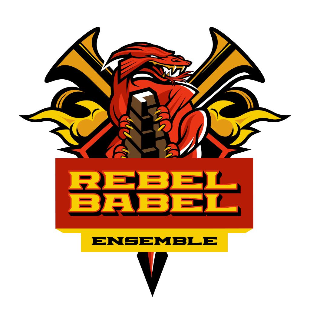 Logo Rebel Babel Ensemble. Autor - Juice