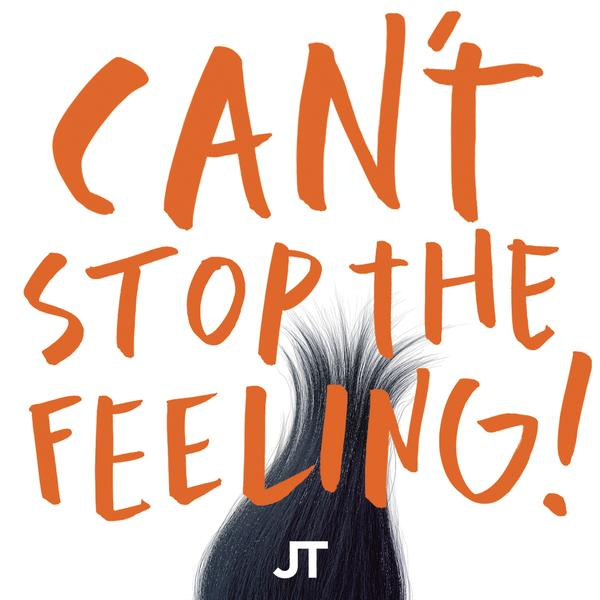 CAN'T STOP THE FEELING! (Original Song From DreamWorks Animation's Trolls) Album Artwork