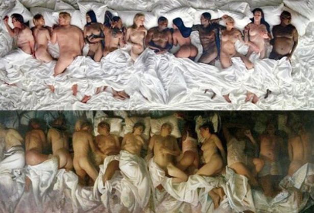Kanye-West-Vincent-Desiderios-painting-Sleep