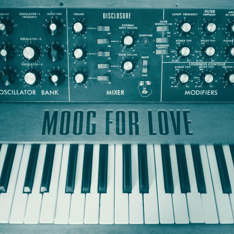 Moog For Love cover