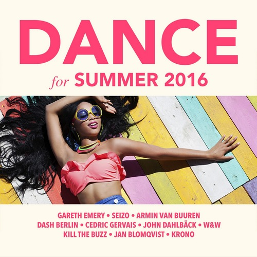 Various Artists - Dance For Summer 2016 (front)