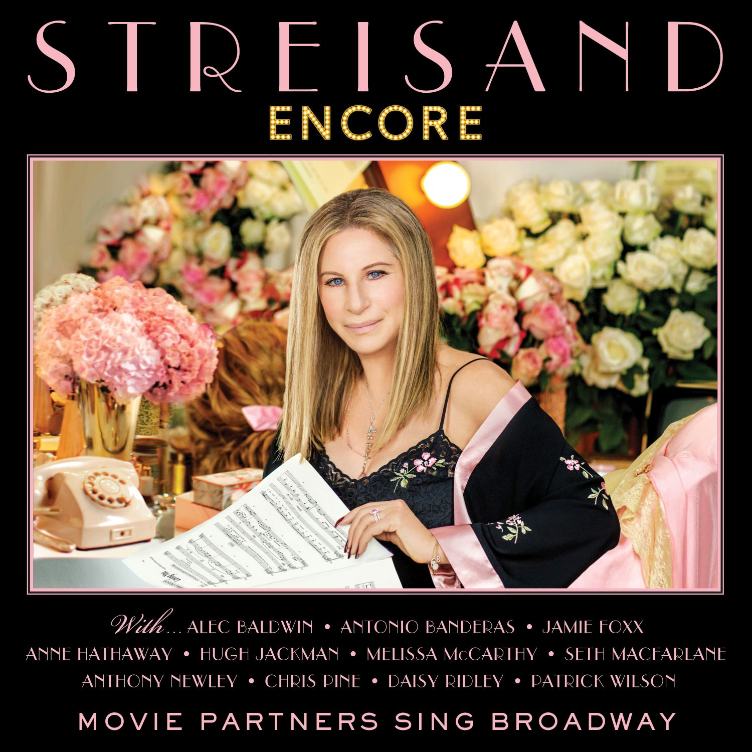 Barbra Streisand ENCORE Movie Partners Sing Broadway - album cover small