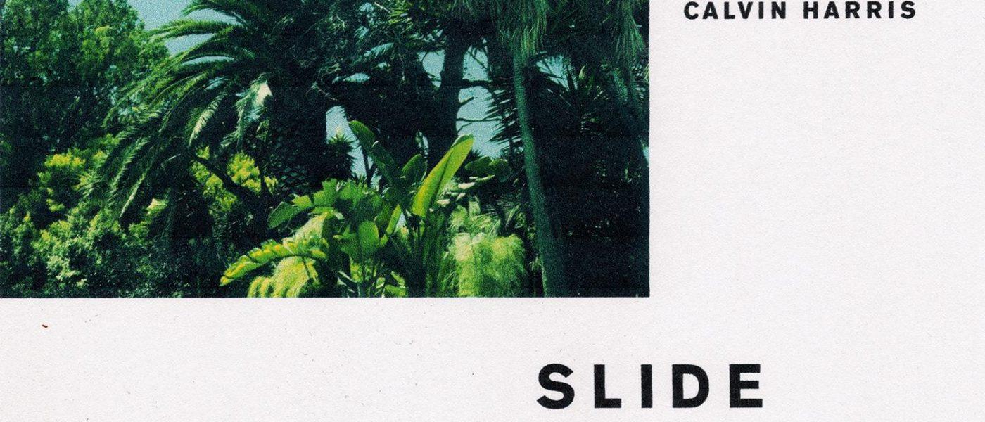 Calvin Harris ft. Frank Ocean & Migos - Slide single cover