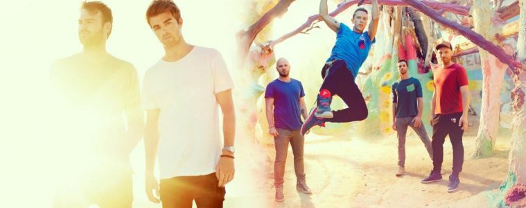 Chainsmokers+Coldplay photo