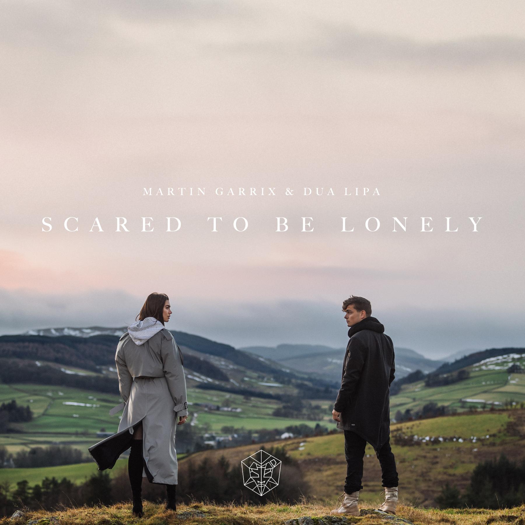 Martin Garrix & Dua Lipa Scared To Be Lonely single artwork