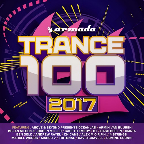 Various Artists - Trance 100 - 2017 (front)