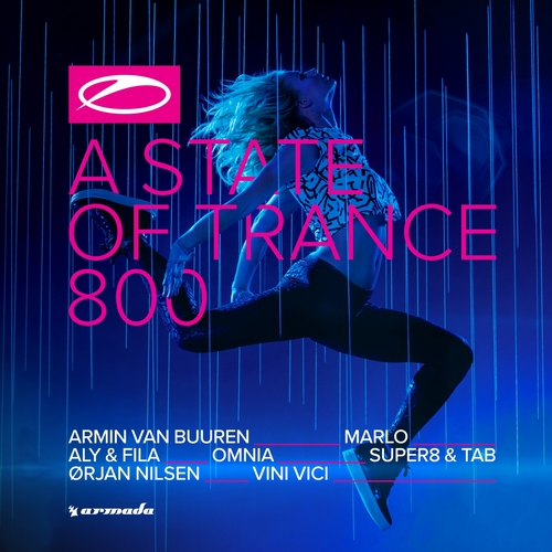 Various Artists - A State Of Trance 800 (front)